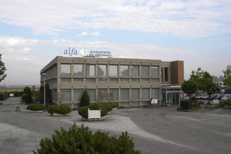 Bestaande toestand kantoor Bleiswijk