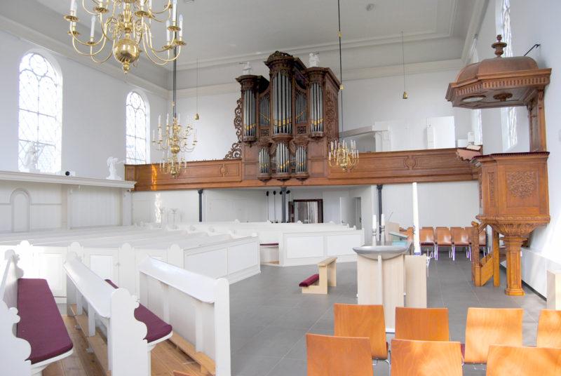 Ontwerp interieur kerk