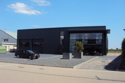 Nieuwbouw industrie architect Eindhoven