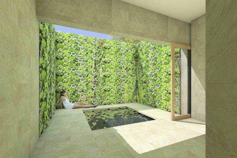 Luxe badkamer architectuur