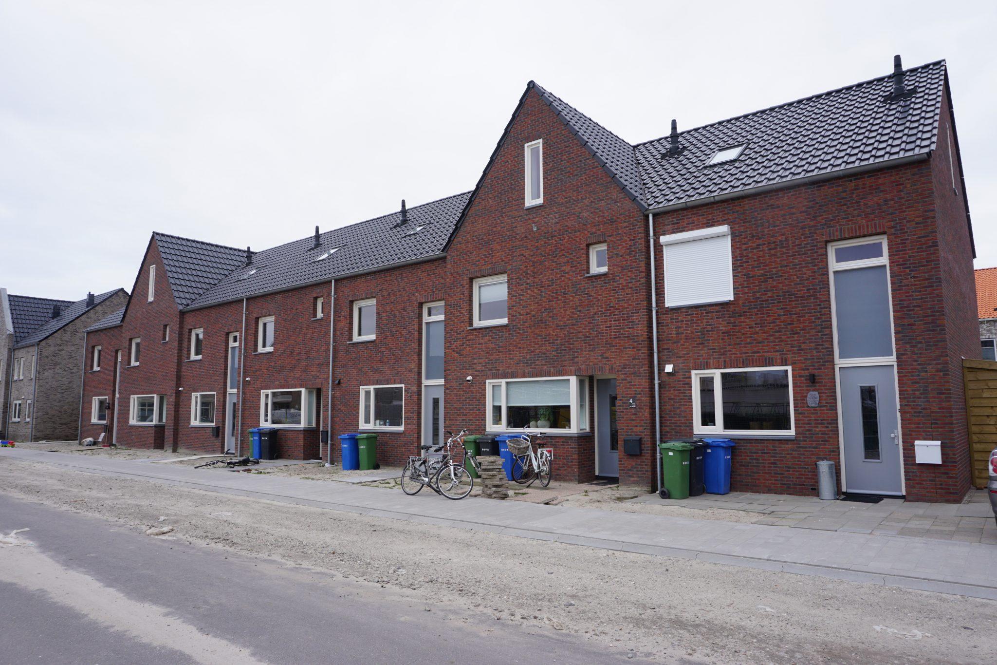 architect rijtjeshuis Oranjewijk Urk